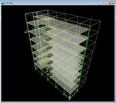 دانلود فایل word دفترچه طراحی و محاسبات کامل یک ساختمان بتنی